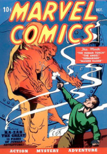 Marvel Comics (1939) #001