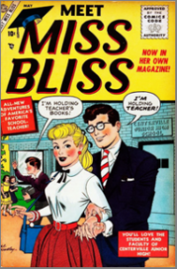 Meet Miss Bliss (1955) #001