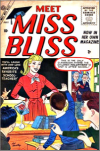 Meet Miss Bliss (1955) #002
