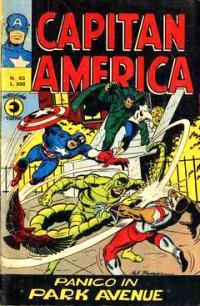 Capitan America (1973) #063
