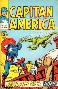 Capitan America (1973) #069