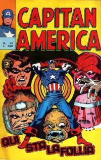 Capitan America (1973) #074