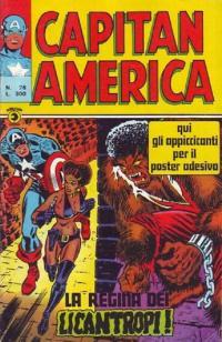 Capitan America (1973) #076