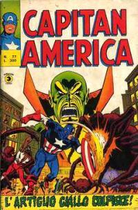 Capitan America (1973) #077