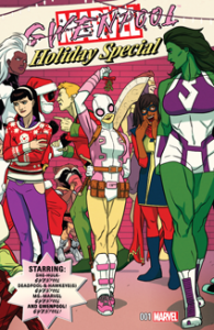 Gwenpool Holiday Special (2016) #001
