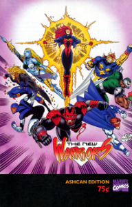 New Warriors Ashcan Edition (1994) #001