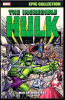 Incredible Hulk Epic Collection (2015) #001