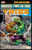 Marvel Two-In-One Epic Collection (2018) #001