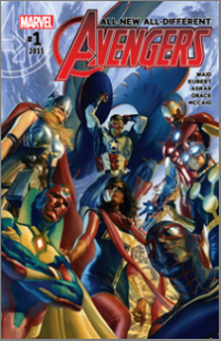 All-New, All-Different Avengers (2016) #001