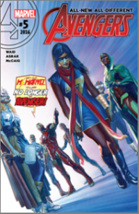 All-New, All-Different Avengers (2016) #005