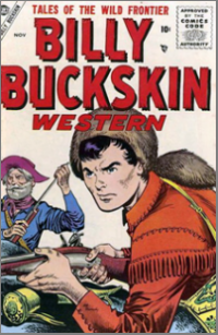 Billy Buckskin Western (1955) #001