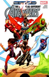 Free Comic Book Day 2015 - Avengers (2015) #001