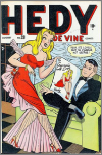 Hedy De Vine Comics (1947) #028