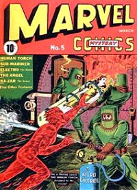 Marvel Mystery Comics (1939) #005