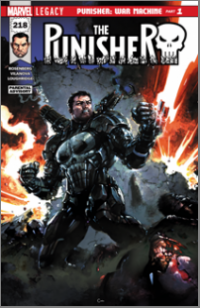 Punisher (2018) #218