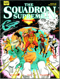 Squadron Supreme: Death Of A Universe (1989) #001