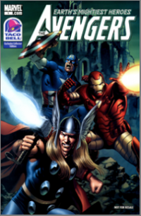 Taco Bell Exclusive Collector Edition - Avengers (2009) #001