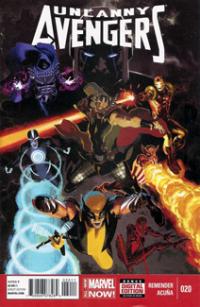 Uncanny Avengers (2012) #020