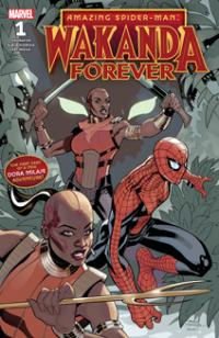 Wakanda Forever: Amazing Spider-Man (2018) #001