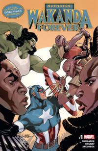 Wakanda Forever Avengers (2018) #001