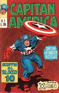 Capitan America (1973) #002