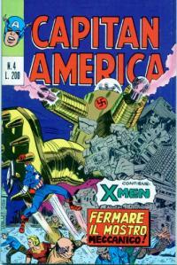 Capitan America (1973) #004