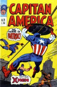 Capitan America (1973) #021