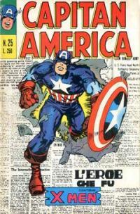 Capitan America (1973) #025