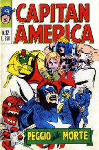 Capitan America (1973) #032