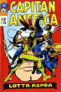 Capitan America (1973) #034