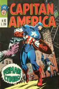 Capitan America (1973) #040