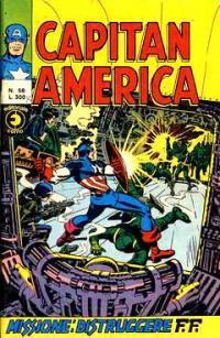 Capitan America (1973) #058