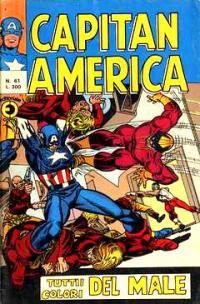 Capitan America (1973) #061