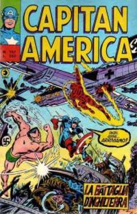 Capitan America (1973) #107