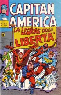 Capitan America (1973) #112