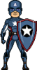 Captain America [R][10]